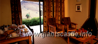 giants castle 4 bed mountain view chalet